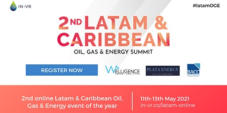 2nd Latam & Caribbean Oil, Gas & Energy Summit 2021 tickets