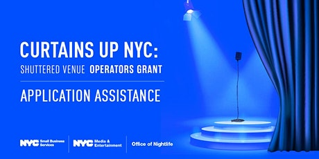 Shuttered Venue Operators Grant (Save Our Stages) Webinar 03/10/2021 tickets