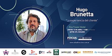 """Desayuno Empresarial - """"La Experiencia del Cliente"""" Hugo Brunetta entradas"""