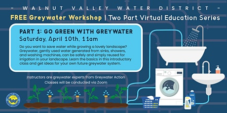 Introduction to Greywater & Water Savings tickets