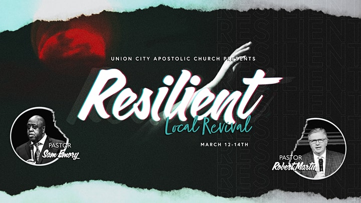 RESILIENT: a Local Revival with Sam Emory &  Robert Martin (In-Sanctuary) image