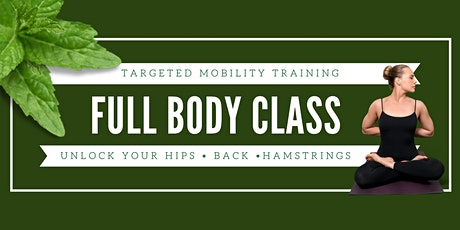 Full Body Mobility Class tickets