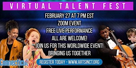 You've Got Talent - Virtual Talent Festival  (FREE) tickets