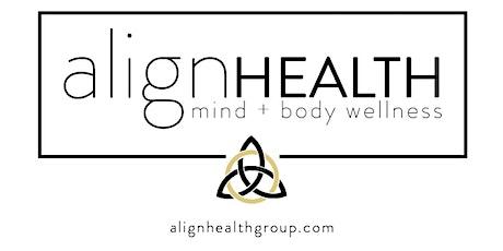 AlignWithUs! Mind Body Wellness WorkShop tickets