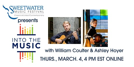 SweetWater Presents Into the Music with William Coulter & Ashley Hoyer tickets