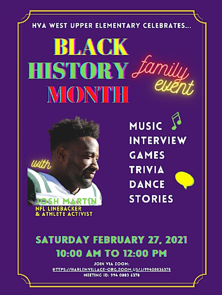 West Upper Elementary Celebrates Black History Month! image
