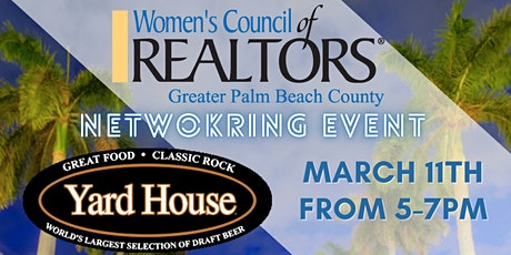 Networking Event - Women's Council Of Realtors® Greater Palm Beach County tickets