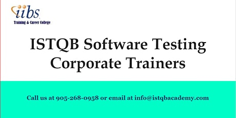 We are starting Software Testing Professional Training tickets