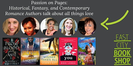 Passion on Pages: Historical, Fantasy and Contemporary Romance Authors tickets