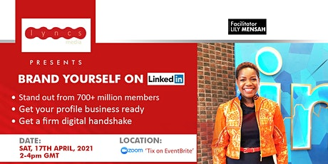 BRAND YOURSELF ON LINKEDIN tickets