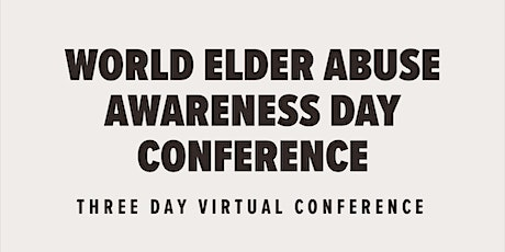 2021 Minnesota World Elder Abuse Awareness Day Conference tickets