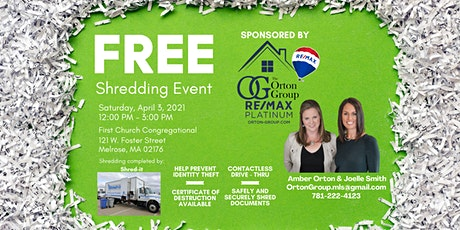 Free Shredding Event tickets