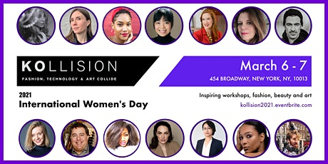 KOllision International Women's Day Event: workshops, fashion, beauty & art tickets