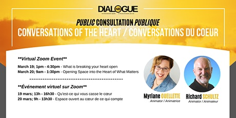 Conversations of the Heart / Conversations du coeur tickets