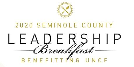 UNCF Seminole County Leadership Virtual Breakfast tickets