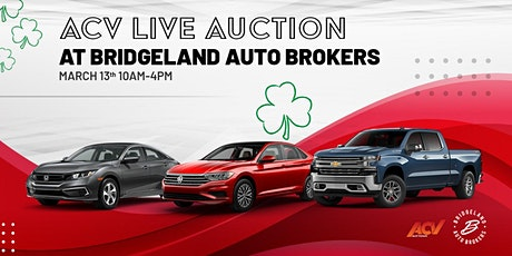 ACV Auction tickets