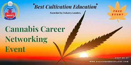 Cannabis Career and Business Networking Event tickets