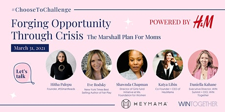 Forging Opportunity Through Crises: The Marshall Plan for Moms tickets