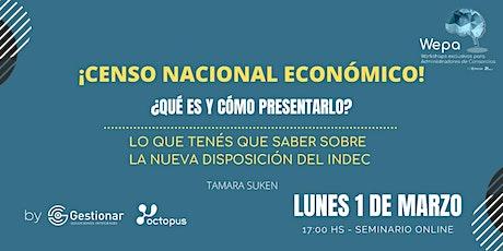 Censo Nacional Económico: ¿Qué es y cómo presentarlo? entradas