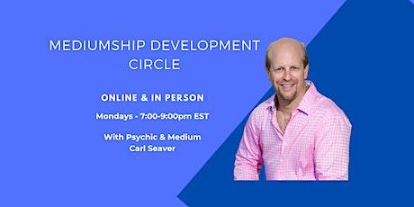 In-person Mediumship Development Circle tickets