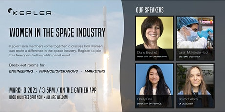Women in the Space Industry tickets