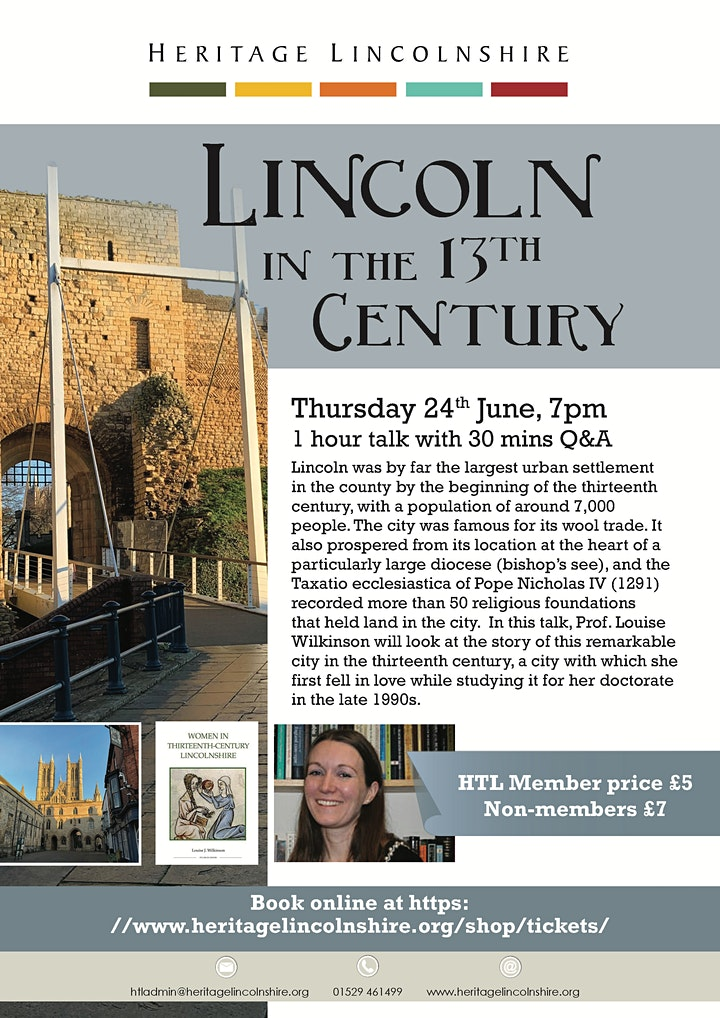 TALK Lincoln in the 13th Century image