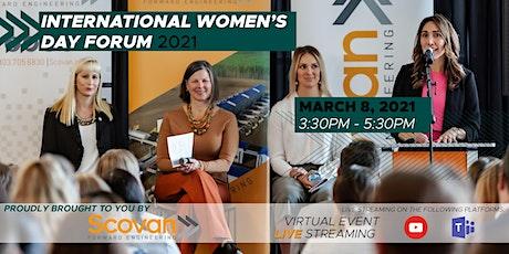 International Women's Day Forum 2021 tickets
