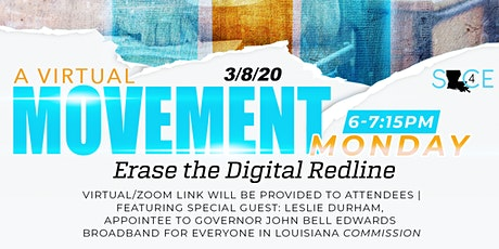 Movement Monday: Lets Erase the Digital Redline with Leslie Durham tickets