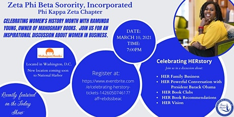 Celebrating HERstory tickets