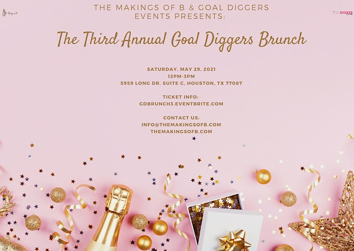 Third Annual Goal Diggers Brunch image