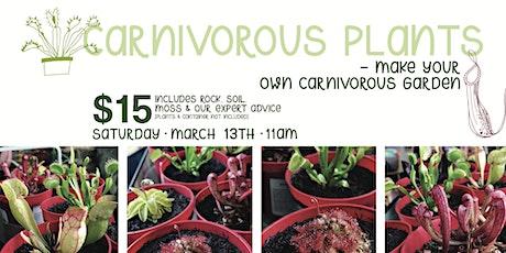 Carnivorous Gardens tickets