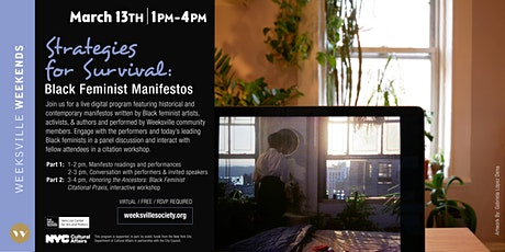 Strategies for Survival: Black Feminist Manifestos tickets