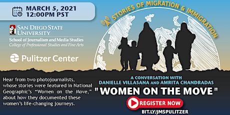 Women on the Move: A Conversation w/ Danielle Villasana & Amrita Chandradas tickets