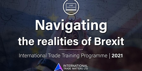 Navigating The Realities of Brexit - An Online Training Course tickets