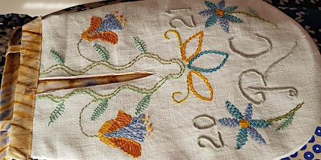 Historic Pockets stitch workshop tickets