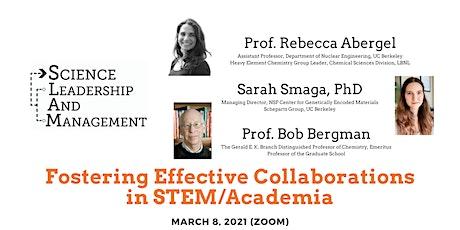 Fostering Effective Collaborations in STEM/Academia biglietti