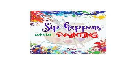 Sip happens while painting tickets