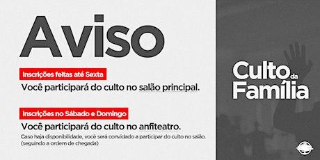 PARTICIPAR DO CULTO DE SANTA CEIA ingressos