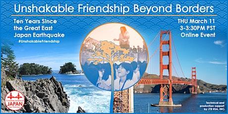 Unshakable Friendship Beyond Borders tickets