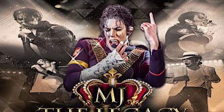 MJ- The Legacy - Ultimate Michael Jackson tribute concert Milton Keynes tickets