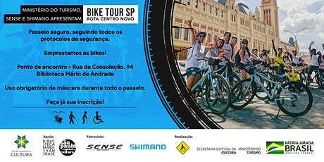 Bike Tour SP - Rota Centro Novo tickets