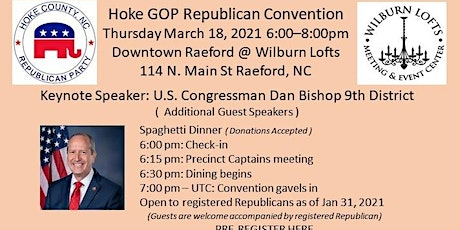 Hoke GOP Republican Convention 2021 tickets