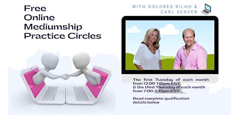 Free Online Mediumship Practice Circle tickets