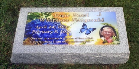 Tales from a Custom Headstone Designer tickets