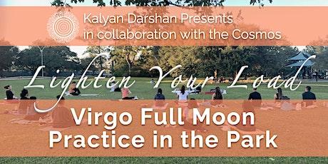 Virgo Full Moon Practice in the Park tickets