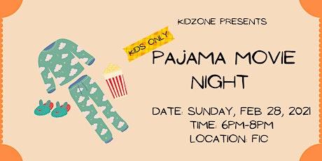 Pajama Movie Night tickets