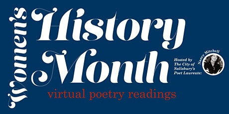 Women's History Month  Virtual Poetry Readings tickets