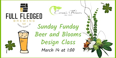 Sunday Funday Beer and Blooms Class tickets