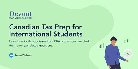 Tax Prep for International Students tickets