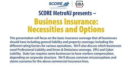 Business Insurance Webinar tickets
